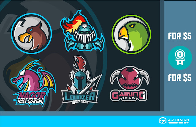 I Will Make Gaming Or Sport Logo And Mascot | Fiverr.com