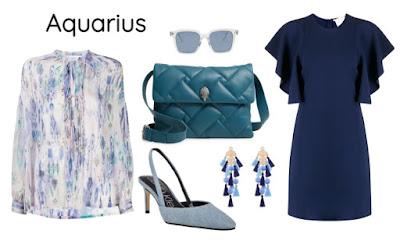 Gaya pakaian zodiak Aquarius