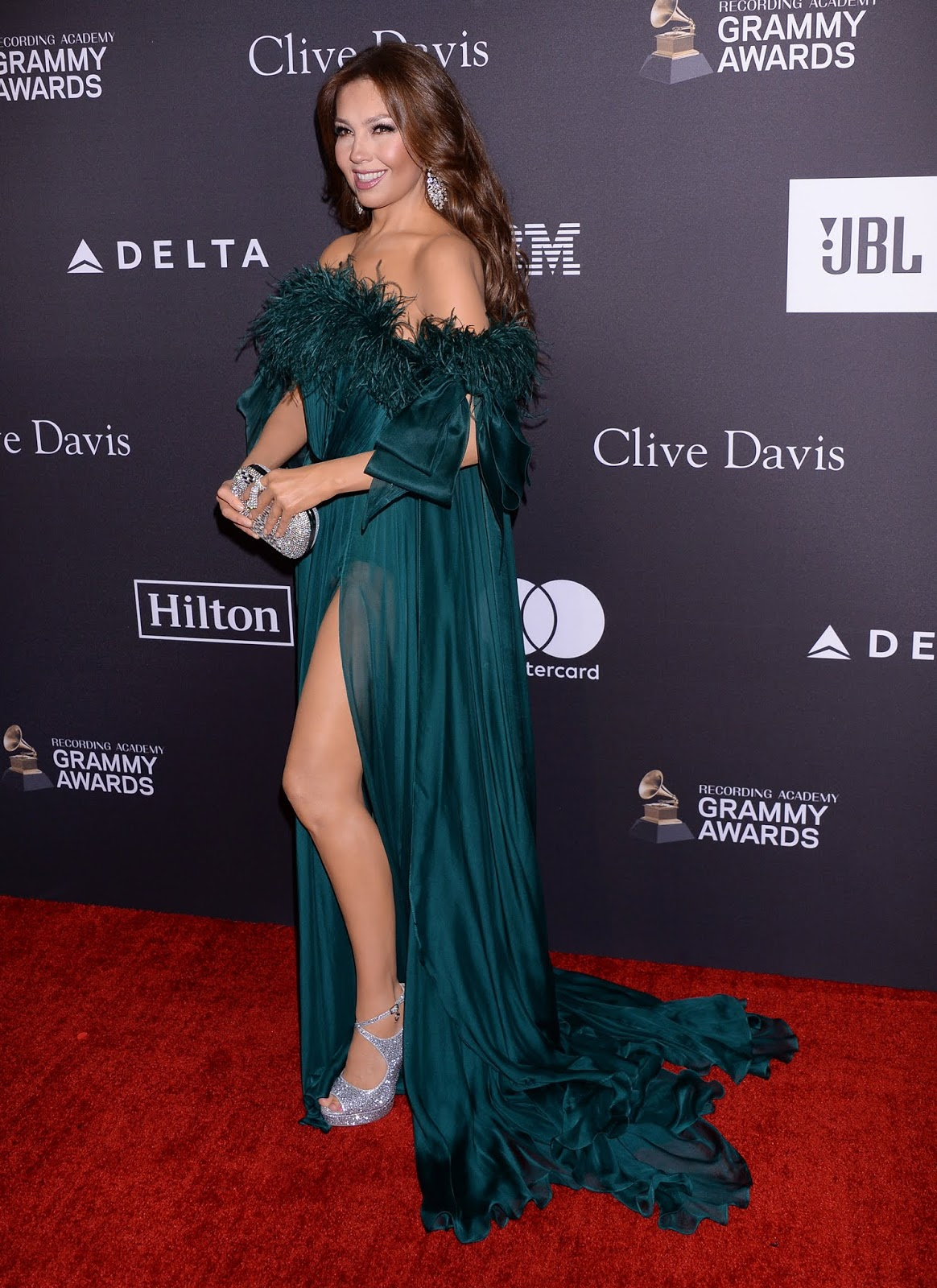Thalia - The Recording Academy and Clive Davis 2019 Pre-GRAMMY Gala in Los Angeles - 02/10/19