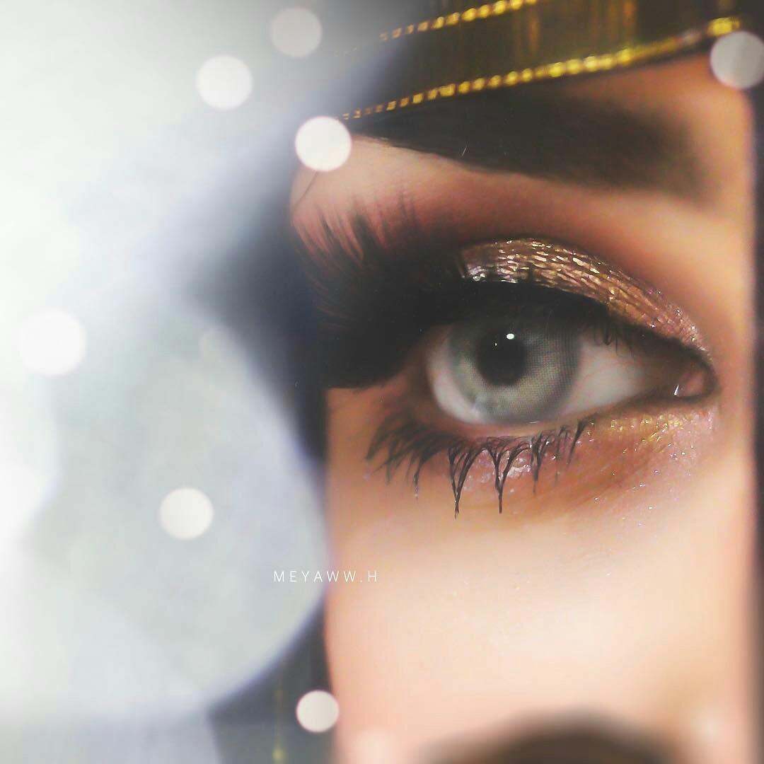 Beautiful Makeup single Eyes DP for Whatsapp Profile