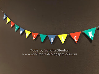 #CTMHVandra, Colour Dare Challenge, color dare, inspirational, School, primary colours, bunting, welcome home, friendship, kindness,