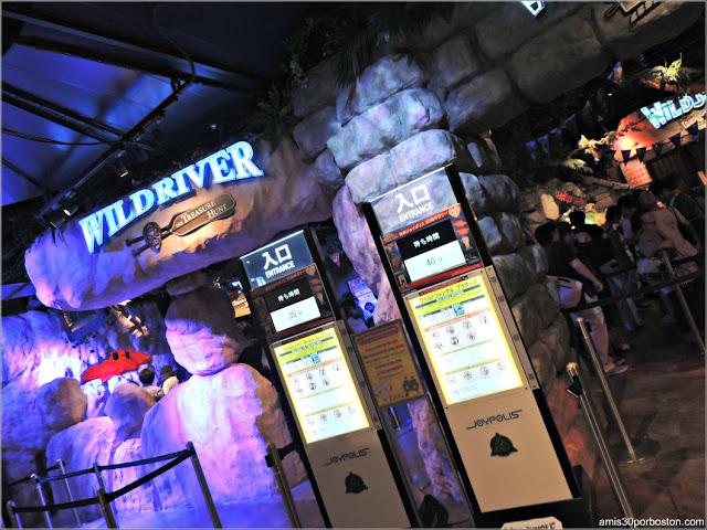 Atracciones en el Tokyo Joypolis de Odaiba