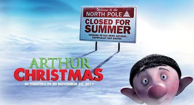 Filmen Arthur och julklappsrushen