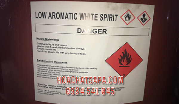 Low Aromatic White Spirit - Mineral Spirit - Dung môi 3040