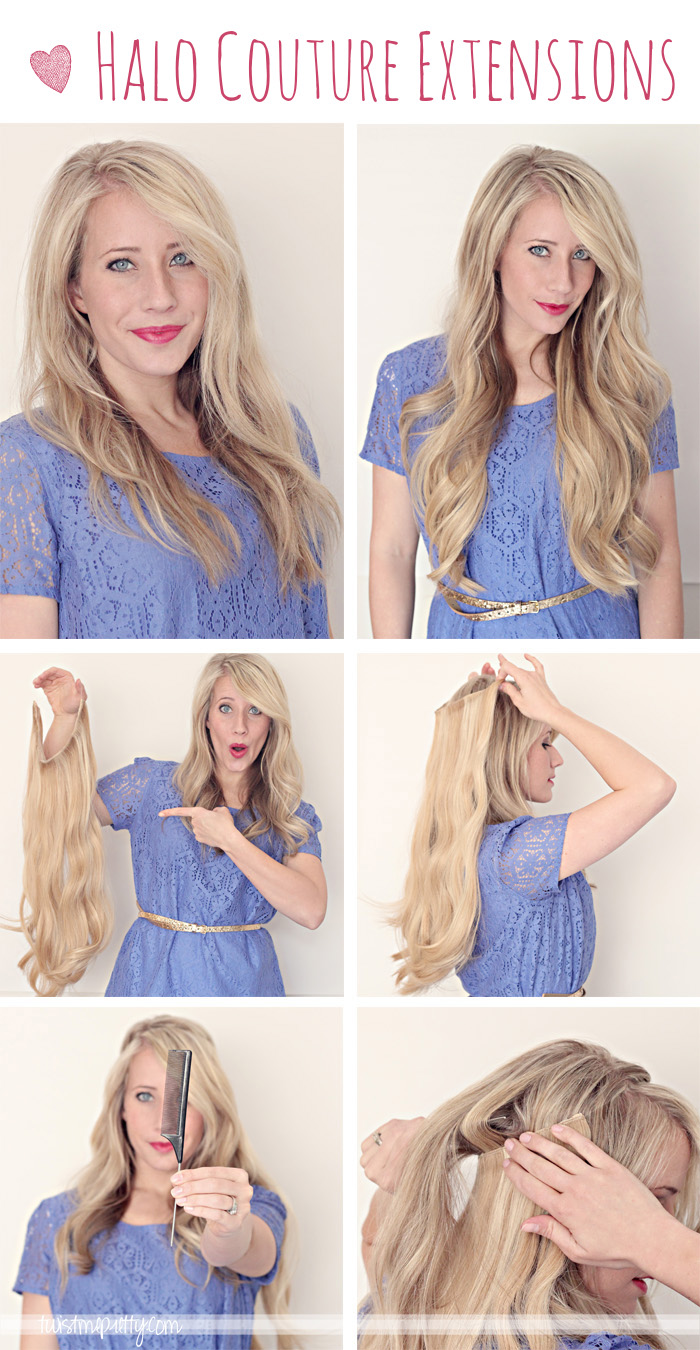 Halo Couture Extensions Twist Me Pretty