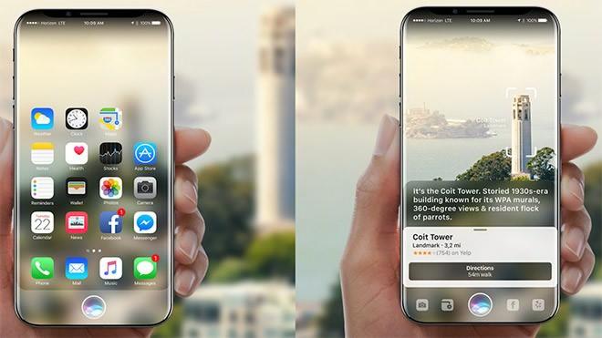 İPhone 8'in Kavisli Ekranı Çok Farklı Olacak