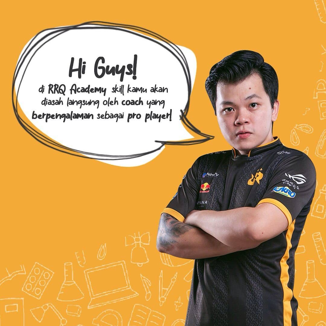 RRQ Academy Buka Kesempatan Bintang Esports Muda 1