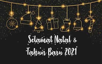 natal 2020 dan tahun baru 2021