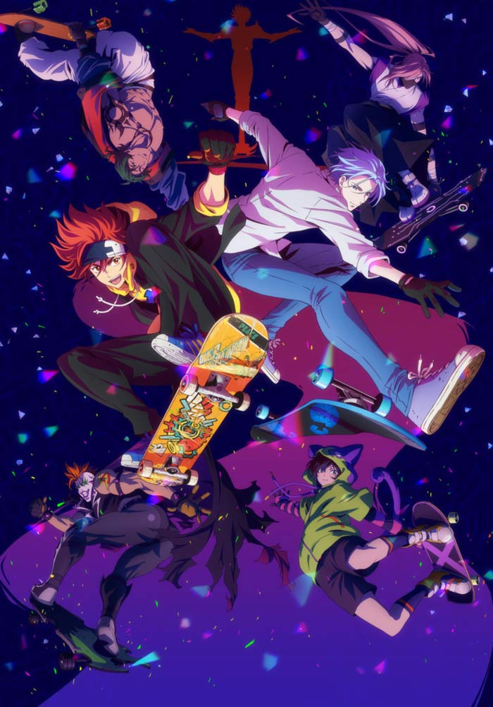 Sk8 The Infinity anime - poster