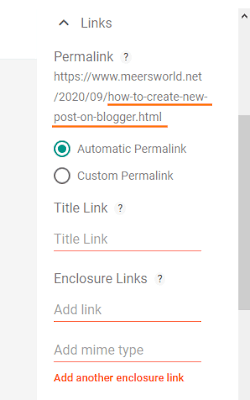 How To Create You First Blog Post on Blogger