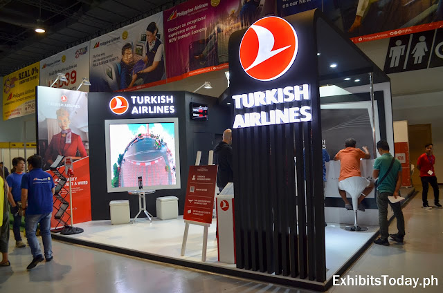 Turkish Airlines Trade Show Display