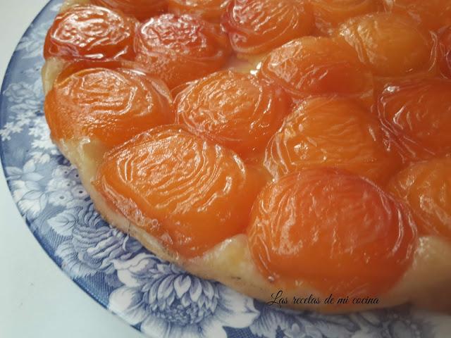 Tarta Tatin de albaricoque