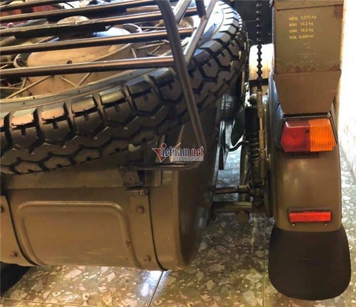 Ngắm xe Sidercar Ural 15 năm tuổi nguyên bản giá 300 triệu ở Hà Nội
