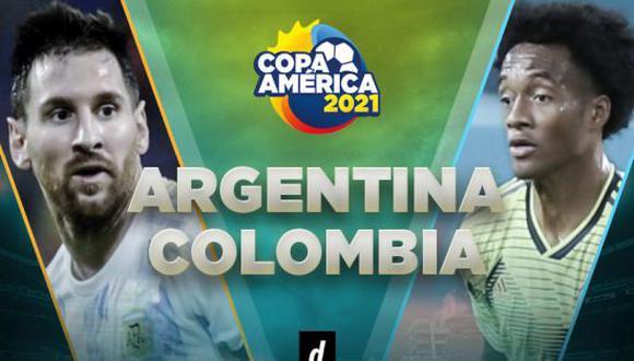 Argentina vs. Colombia EN VIVO juegan por DIRECTV y Caracol TV por Copa América