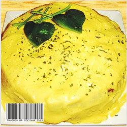 Torta de brócolis e couve-flor