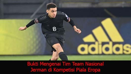 Bukti Mengenai Tim Team Nasional Jerman di Kompetisi Piala Eropa