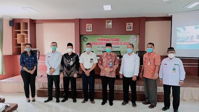 Inspektur Wilayah 1 Itjen Kementerian Agama RI Lakukan Pembinaan Pegawai Dilingkungan Kantor Kemenag Kab. Buleleng
