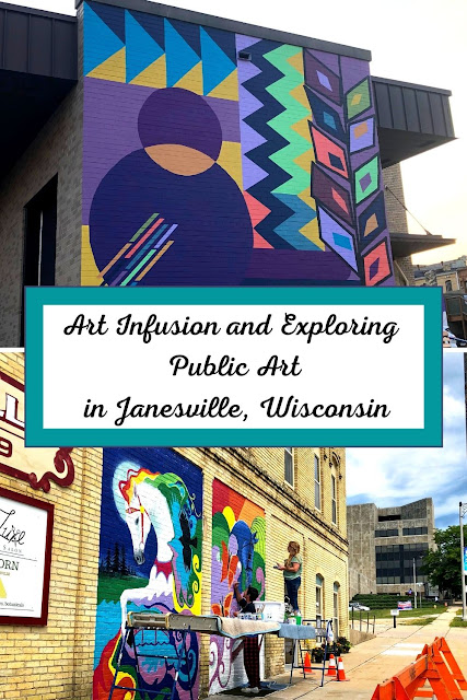 Art Infusion and Exploring  Public Art  in Janesville, Wisconsin