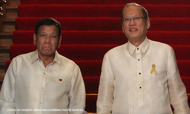 """Sumisipsip? Aquino breaks silence, offers help to Duterte, """"the leader of our country"""""""