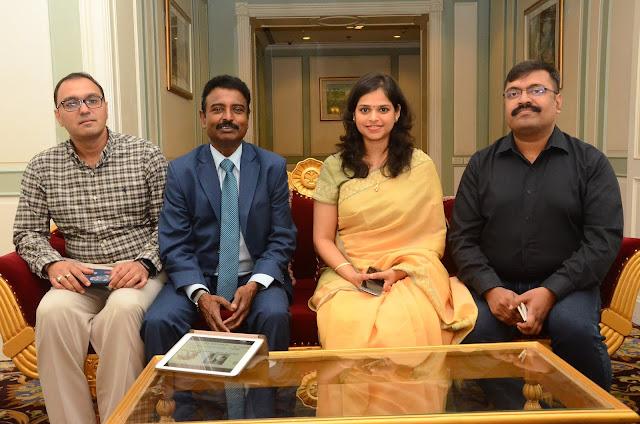 Dr. Vishal Rao, Padmashri Dr. Natrajan,Dr. Palak Popat, Dr. Prashant Jha