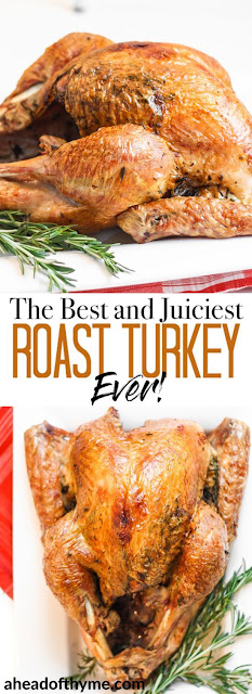 The Best and Juiciest Roast Turkey Ever