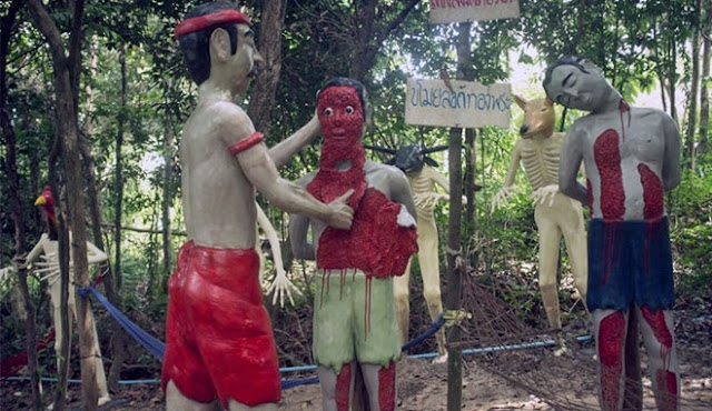 Taman Wisata Surga Neraka di Thailand, Berani Datang?