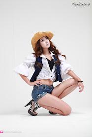 xxx nude girls: Park Hyun Sun - Sexy Cowgirl