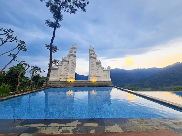 Menu di Mandapa Kirana Resort Bogor