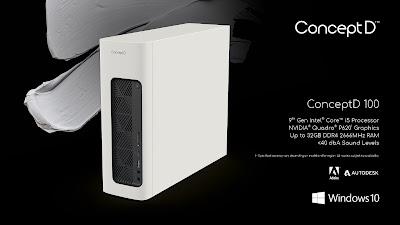 ConceptD 100 Desktop