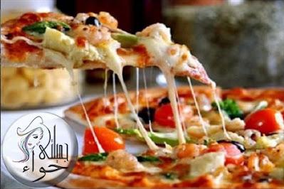 طريقة عمل البيتزا