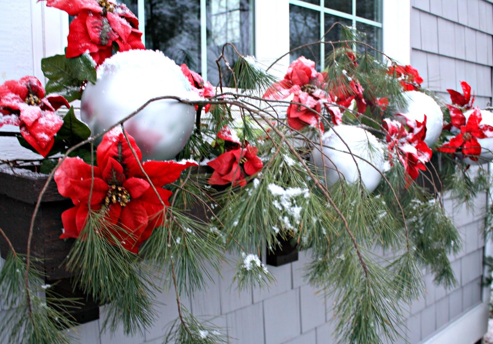 Flower Box Christmas Decorations Psoriasisguru & Christmas Flower Box Decorations - Home Decorating Ideas