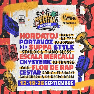Se viene el Festival Sativa todos los sábados de septiembre