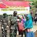 Baksos TNI -Polri Bagikan 100 Paket Sembako, Bantu Masyarakat Terdampak Sosial Covid 19