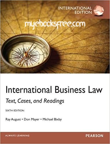 International Business Law Pdf Book