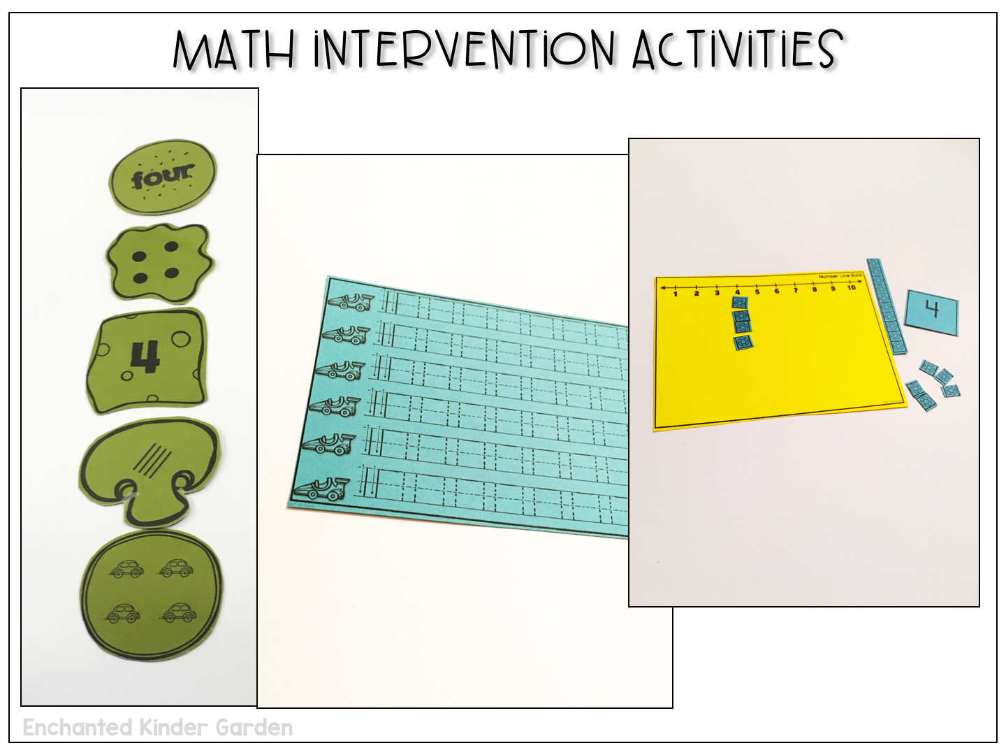 How I master math intervention – Enchanted Kinder Garden
