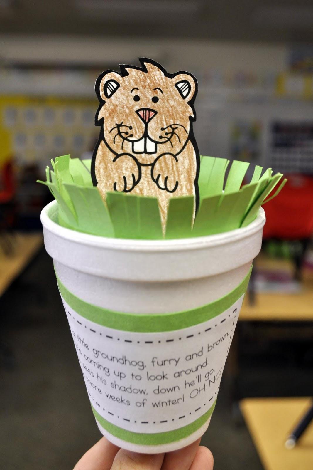 Mrs Ricca S Kindergarten Groundhog Day