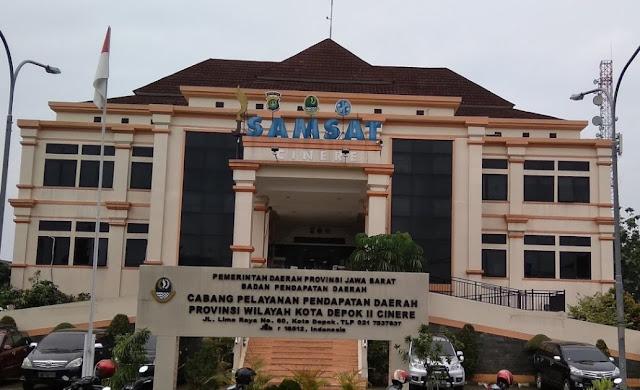 Samsat Cinere, Depok Jawa Barat ( Samsat 3 Provinsi ...