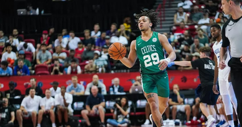 Video: Carsen Edwards catches fire as Celtics beat Cavaliers in final preseason game