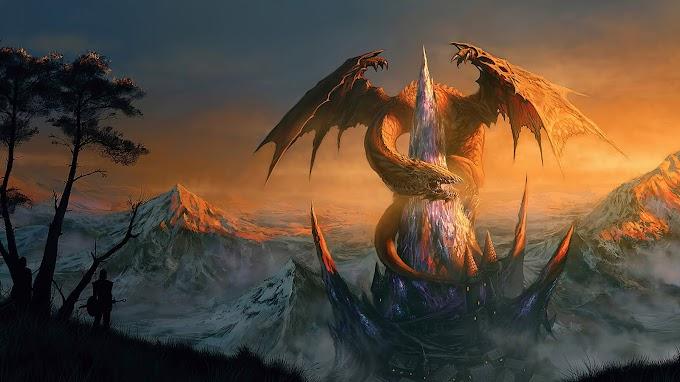 Plano de Fundo Dragão