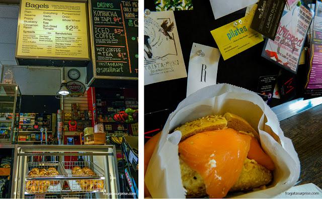 Bagels do Small Mart, Nova Orleans