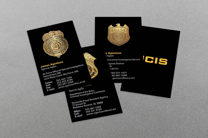 Military Business Cards - Business Card Tips