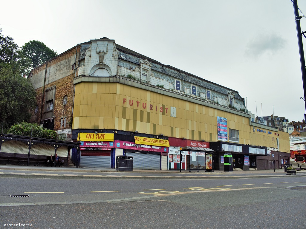 Futurist Theatre Scarborough From The Outside Before It Was Closed