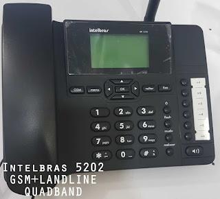 INTELBTRAS 5202 GSM+PTCL LANDLINE QUADBAND