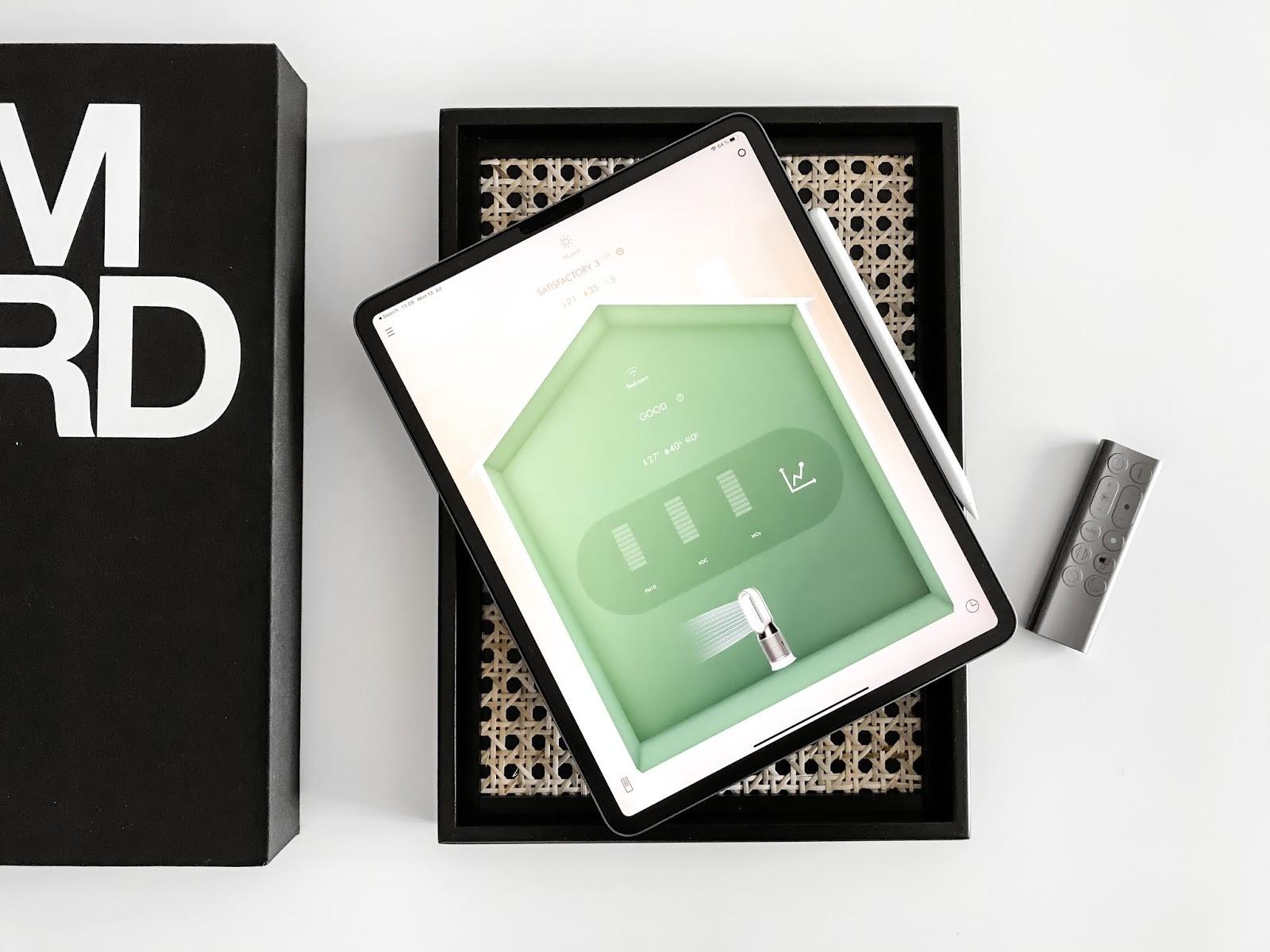 Dyson Humidify+Cool iPad App