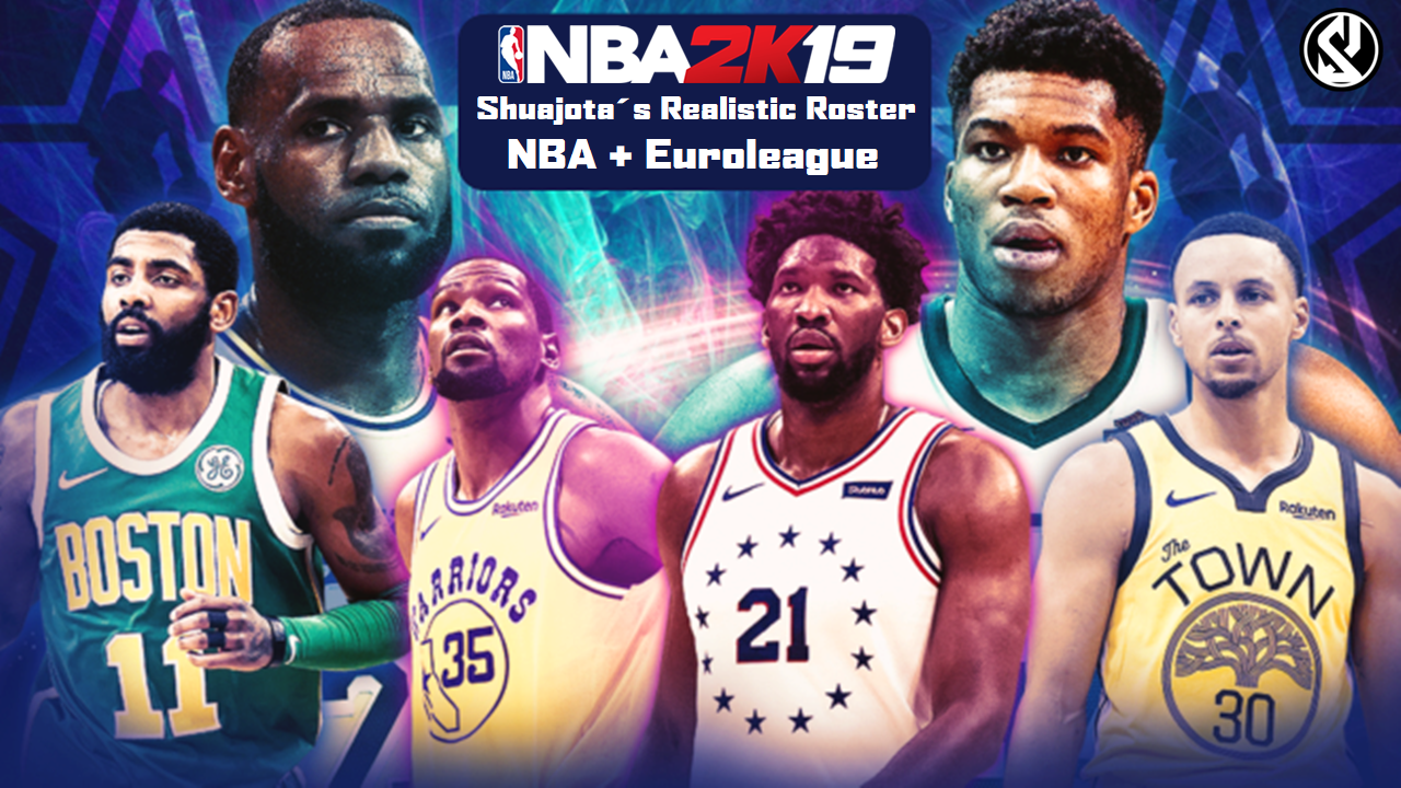 ccfe25ed760 NBA 2K19 - Shuajota´s Realistic Roster v7.3 (NBA + Euroleague ...