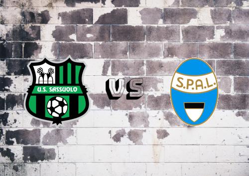 Sassuolo vs SPAL  Resumen