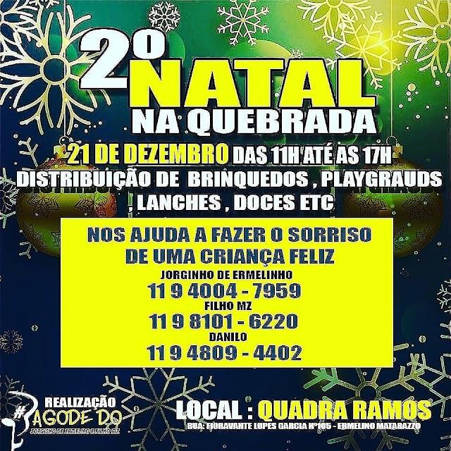 Segundo Natal Na Quebrada - Ermelino Matarazzo