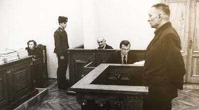 Григорий Васюра в зале суда