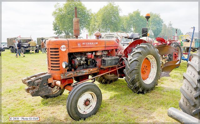 Tracteur Mc. Cormick