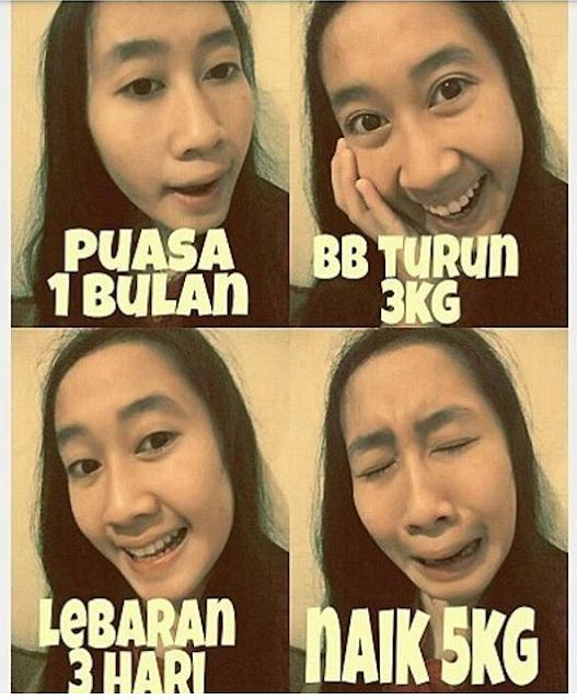 Meme Momen Lebaran Paling Gokil Dan Brrrrr..LOL!